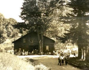 Historical photo of RVP Barn Theater by Clyde H. Sunderland